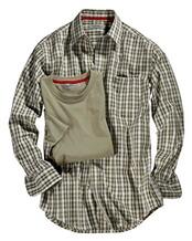 Set Karohemd und T-Shirt, Wald & Forst