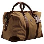Cassino Bag, Leder-Canvas, Baron