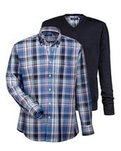 Set Pullover mit Hemd, HIGHMOOR