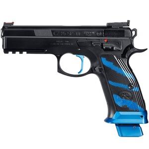 pro tuning pistole cz75 sp 01 shadow boa blau pistolen. Black Bedroom Furniture Sets. Home Design Ideas