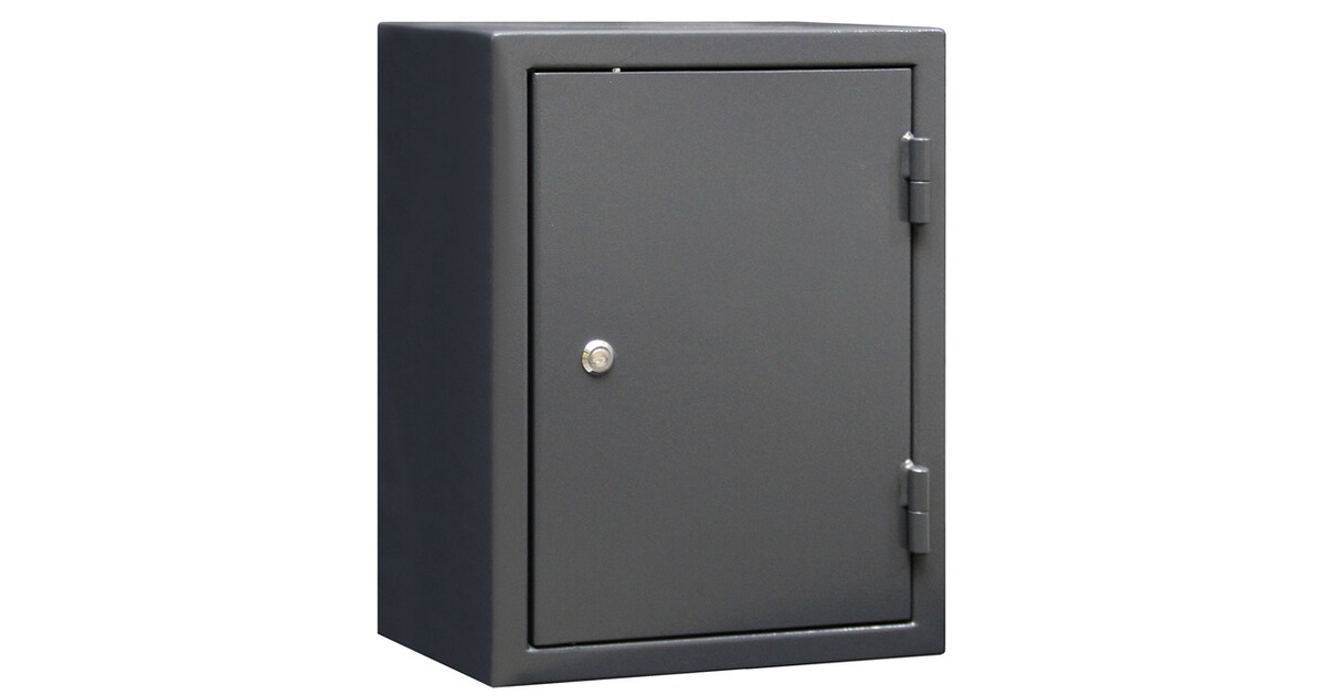 format munitionsschrank mns 600 60 x45x35 cm grau munitionsschr nke waffensicherung. Black Bedroom Furniture Sets. Home Design Ideas