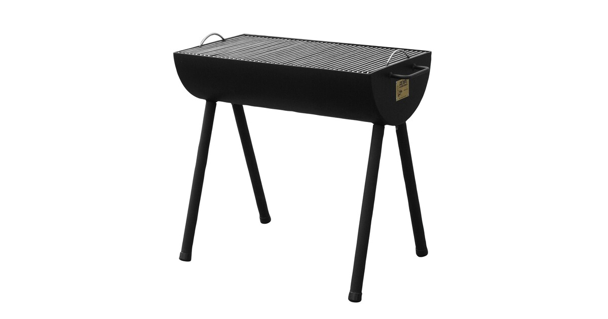 joe s grill half barrel barbecue ausr stung outdoor online shop. Black Bedroom Furniture Sets. Home Design Ideas