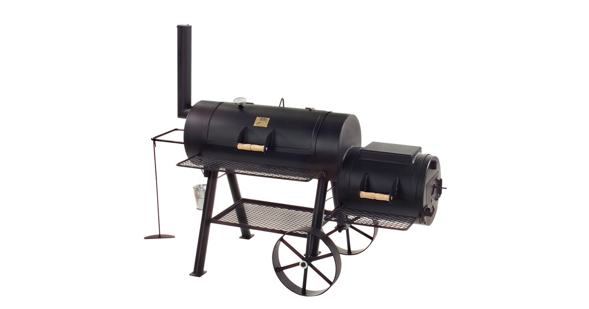 joe s smoker joes bbq 16 texas classic lang barbecue ausr stung outdoor online shop. Black Bedroom Furniture Sets. Home Design Ideas