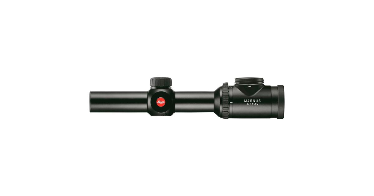 Leica Zielfernrohr Entfernungsmesser : Leica zielfernrohr magnus 1 6 3x24i zielfernrohre optik jagd