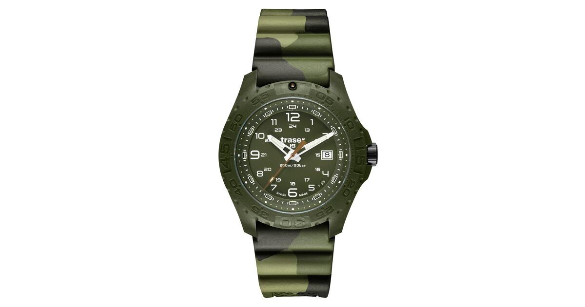 traser uhr soldier gr n armbanduhren ausr stung online shop. Black Bedroom Furniture Sets. Home Design Ideas