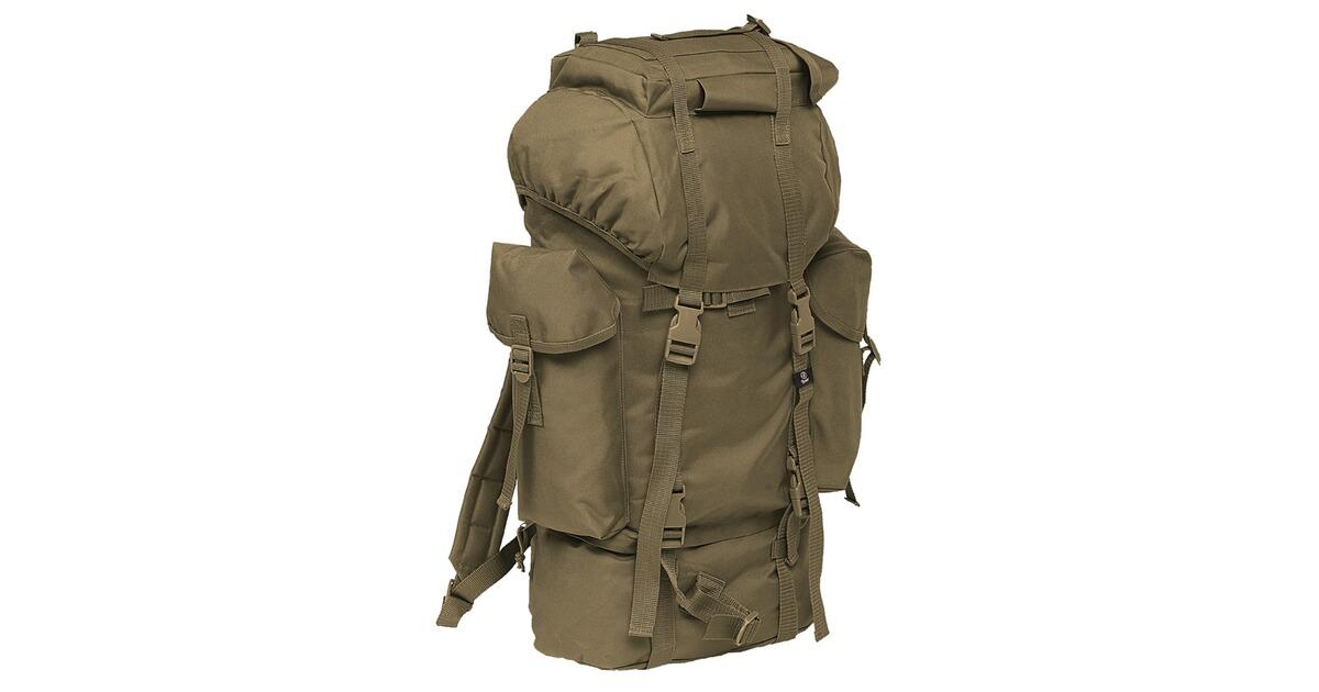 brandit bw rucksack 65 l gr n rucks cke ausr stung outdoor online shop. Black Bedroom Furniture Sets. Home Design Ideas