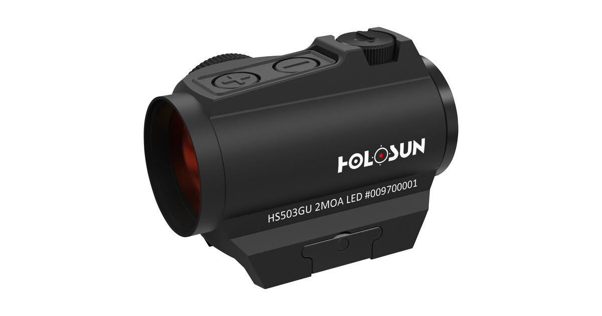 Zielfernrohr Mit Entfernungsmesser Defekt : Holosun rotpunktvisier hs503gu leuchtpunktzielgeräte optik