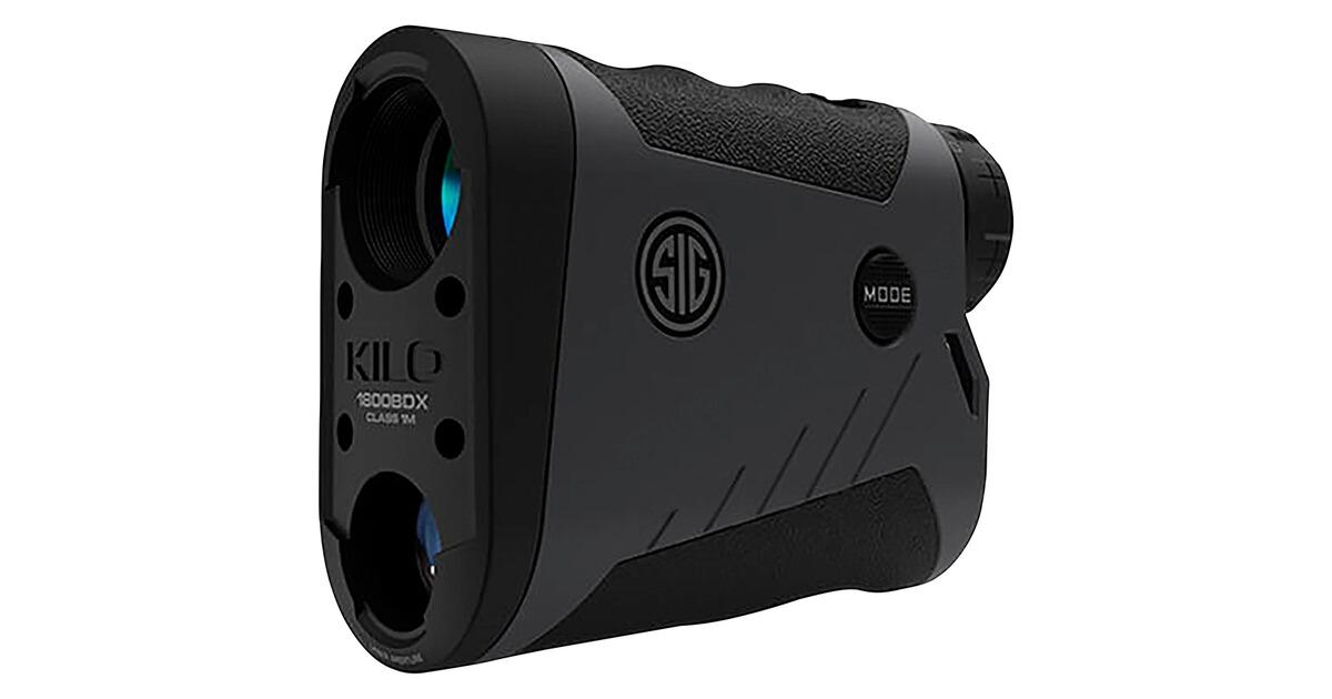 Entfernungsmesser Mit Winkelfunktion : Sig sauer laser entfernungsmesser kilo 1800 bdx