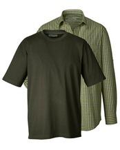Set aus Hemd und T-Shirt, Wald & Forst