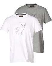 T-Shirt Doppelpack, REITMAYER