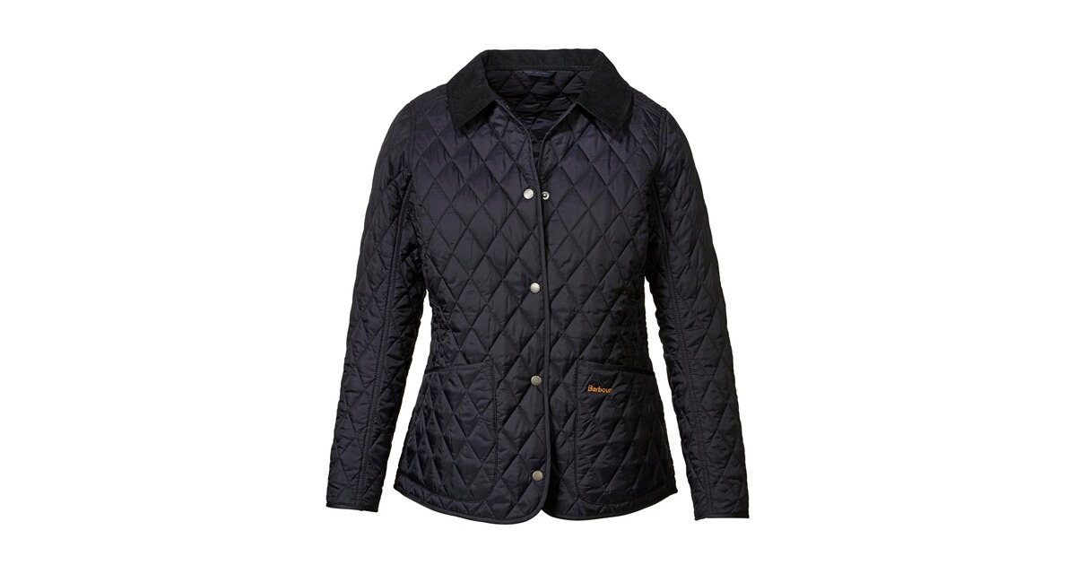 barbour steppjacke annandale blau jacken bekleidung damenmode mode online shop. Black Bedroom Furniture Sets. Home Design Ideas