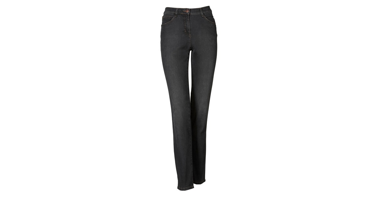 brax jeans carola glamour grau jeans bekleidung. Black Bedroom Furniture Sets. Home Design Ideas