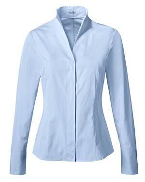 van laack bluse alice blau blusen bekleidung damenmode mode online shop. Black Bedroom Furniture Sets. Home Design Ideas