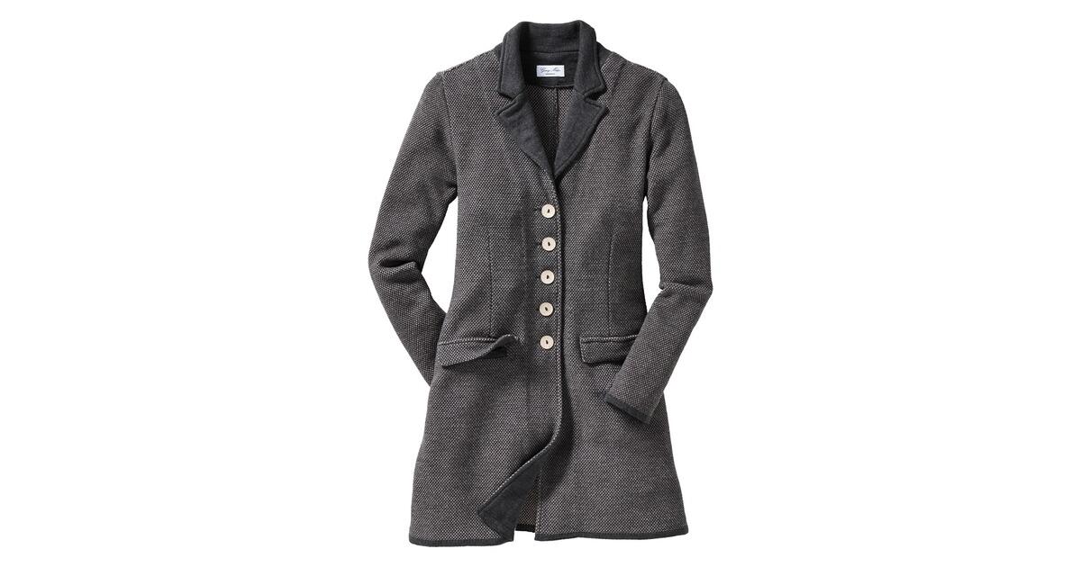 georg maier gehrock grau blazer janker bekleidung damenmode mode online shop. Black Bedroom Furniture Sets. Home Design Ideas