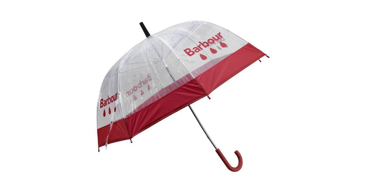 barbour regenschirm raindrop rot taschen rucks cke. Black Bedroom Furniture Sets. Home Design Ideas