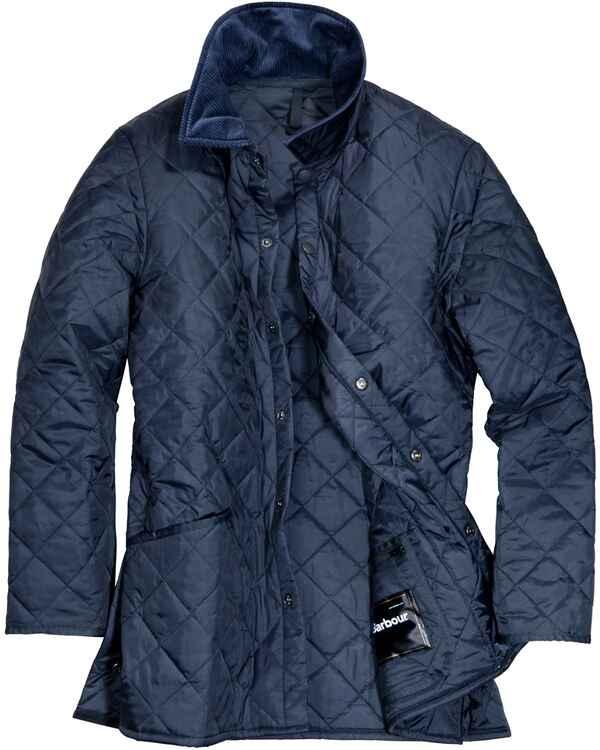 barbour steppjacke liddesdale blau jacken bekleidung damenmode mode online shop. Black Bedroom Furniture Sets. Home Design Ideas