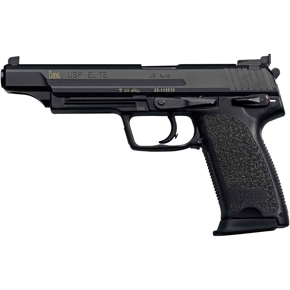 Heckler koch usp elite kaliber 9 mm luger pistolen for Koch stellen