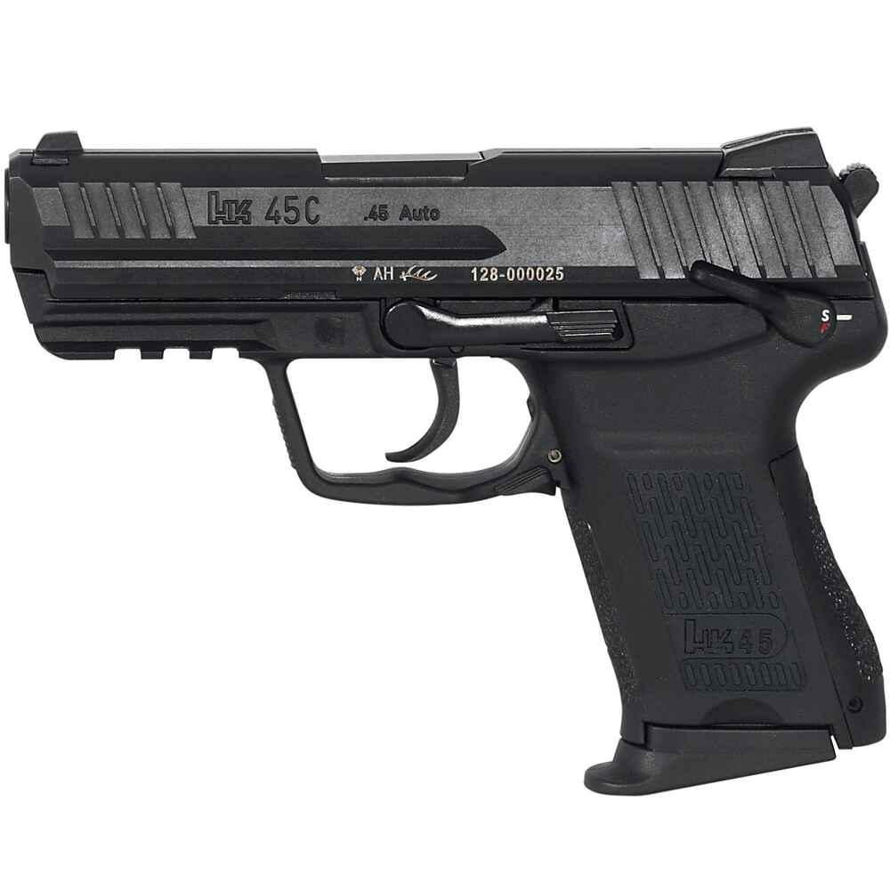Heckler koch pistole hk45 compact schwarz pistolen for Koch stellen
