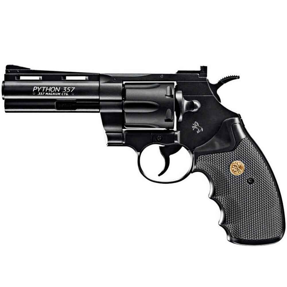 colt co2 revolver colt python laufl nge br niert 4 gesamtl nge 237 mm gewicht 992 g. Black Bedroom Furniture Sets. Home Design Ideas