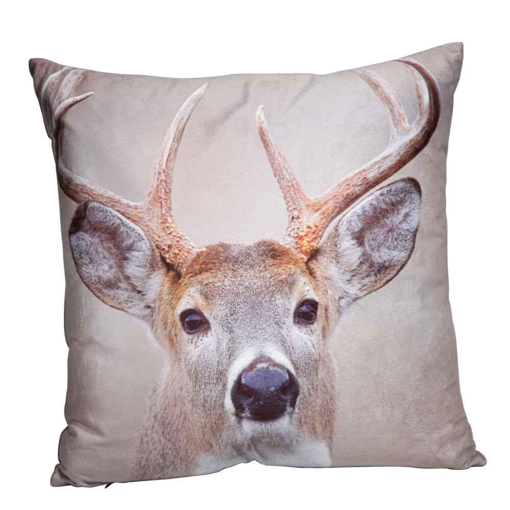 kissen tiermotiv ausf hrung hirschmotiv accessoires geschenke heim familie. Black Bedroom Furniture Sets. Home Design Ideas