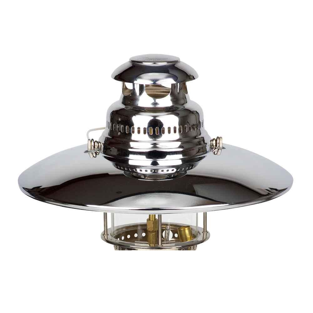 Petromax reflektorschirm chrom zubeh r lampen co for Lampen chrom