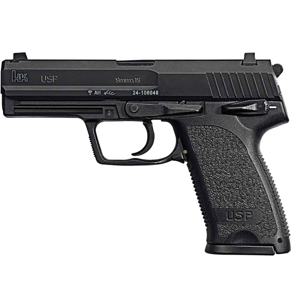 heckler koch usp br niert kaliber 9 mm luger pistolen kurzwaffen waffen online shop. Black Bedroom Furniture Sets. Home Design Ideas