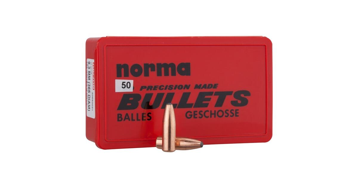 Laser Entfernungsmesser Norma : Norma geschosse .366 285 grs. oryx kaliber 9 3 mm