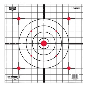 Eze-Scorer Sight-in PaperTarget,12*