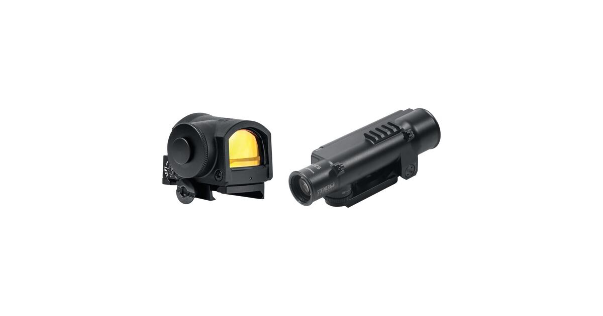 Laser Entfernungsmesser Norma : Steiner set ics 6x40 & mrs reflex sight