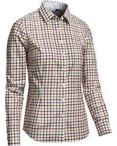 Damen Karobluse Charleston Lady Shirt