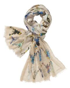Großkmehlen Angebote Schal mit Hirschdruck