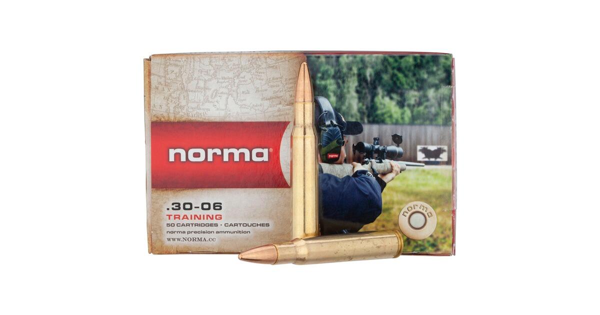 Laser Entfernungsmesser Norma : Norma 30 06 spr. vollm. jakt match 150 grs. kaliber .30 spr