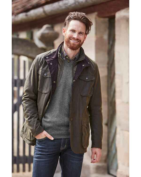 Wachsjacke Ogston, Barbour
