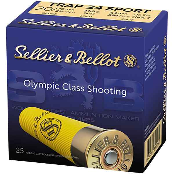 20/70 Sport Trap 2,4mm 24g, Sellier & Bellot