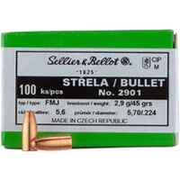 S+B Ges. .224 45 grs. Vlm  100 St. ., Sellier & Bellot