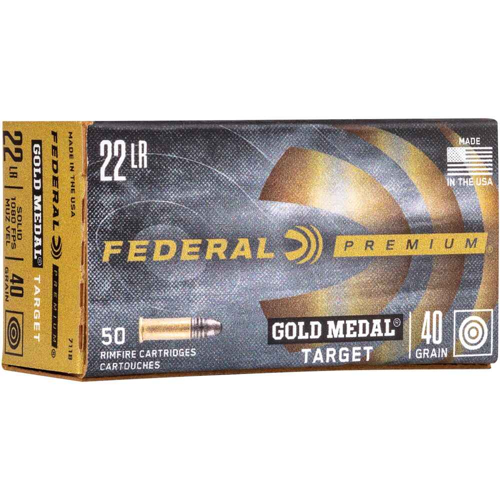 .22 lfb. Gold Medal Target, Federal Ammunition
