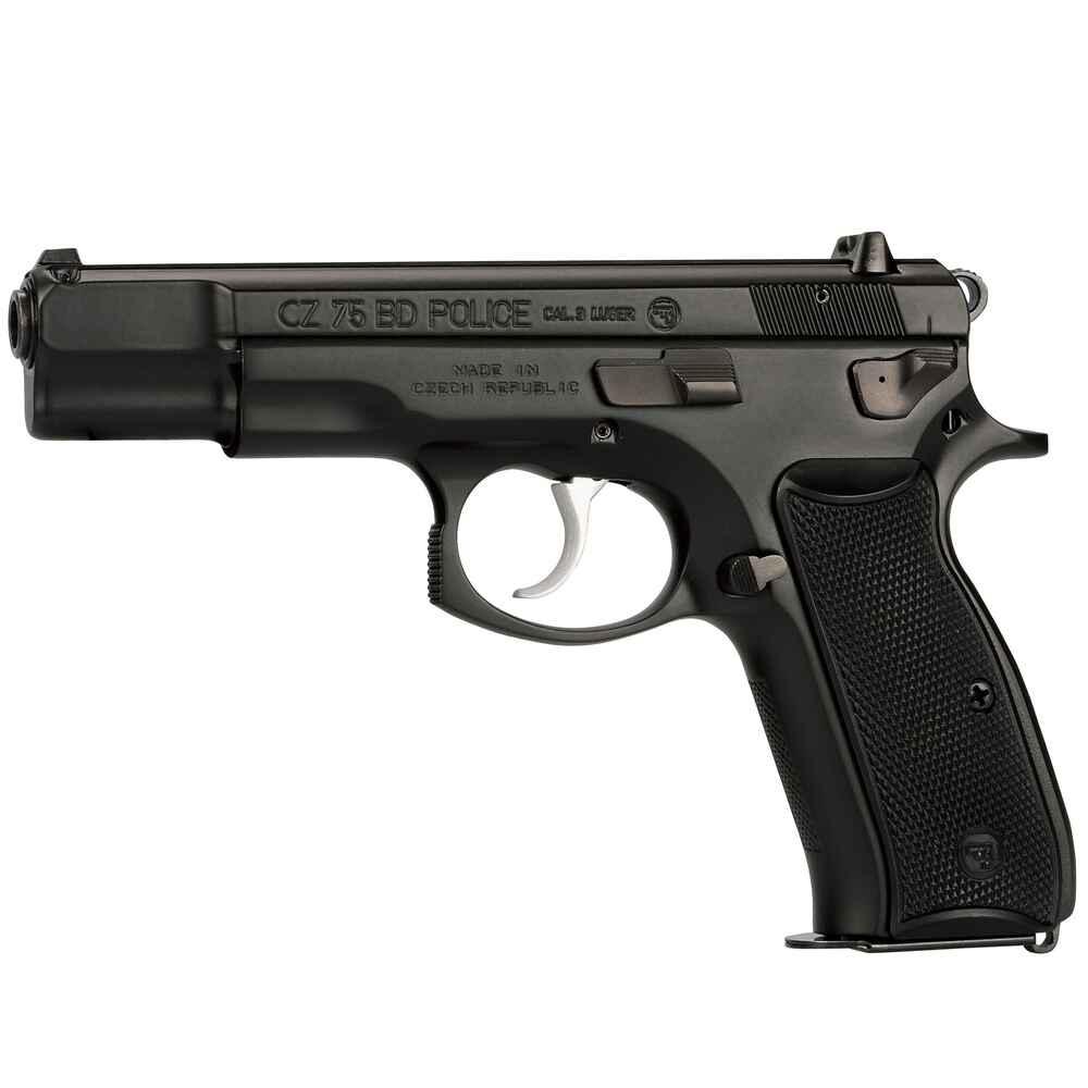 cz pistole cz75 bd police mit signalstift kaliber 9 mm. Black Bedroom Furniture Sets. Home Design Ideas