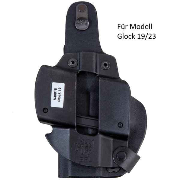 Gürtelholster Thumb-Break Kydex BFL, Front Line