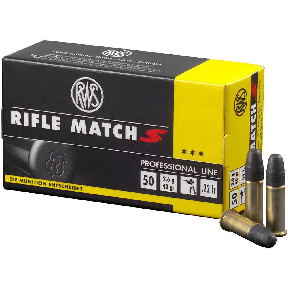 .22 lfB. Rifle Match S, RWS