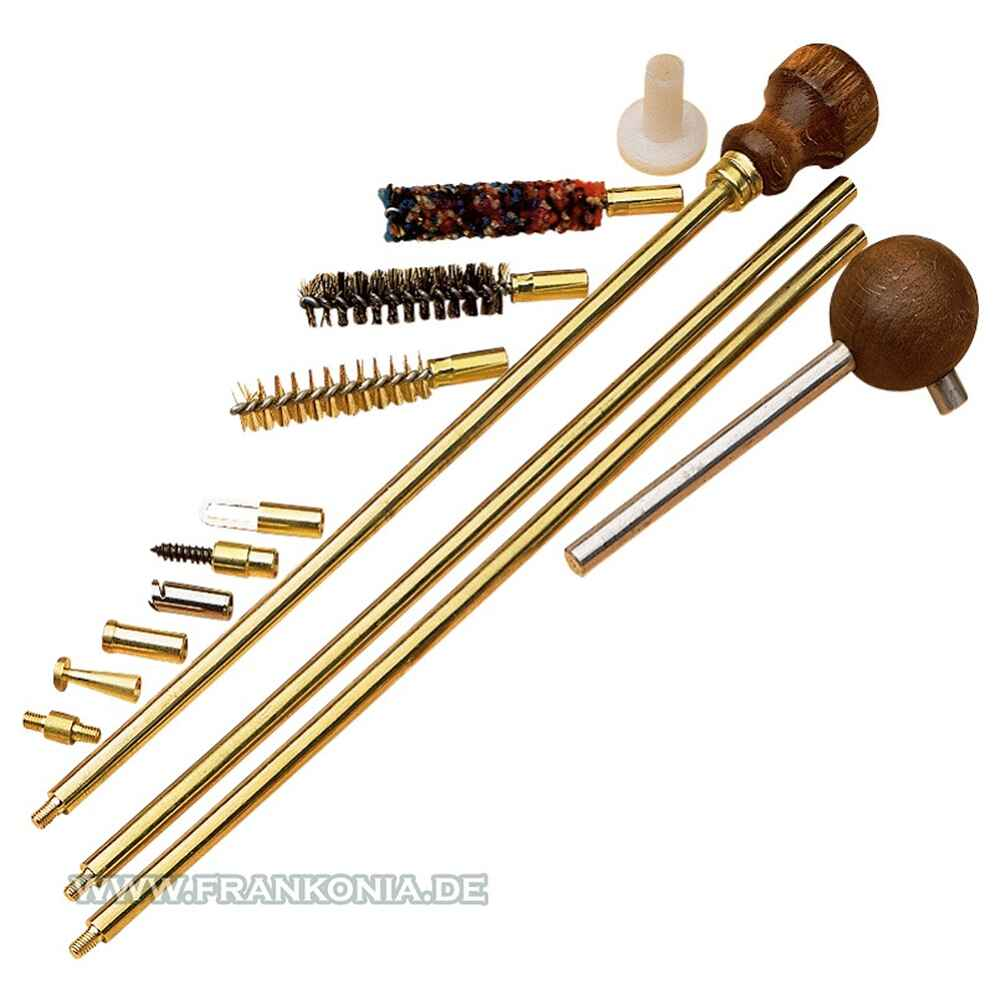 Cleaning set, brass, .36-.45