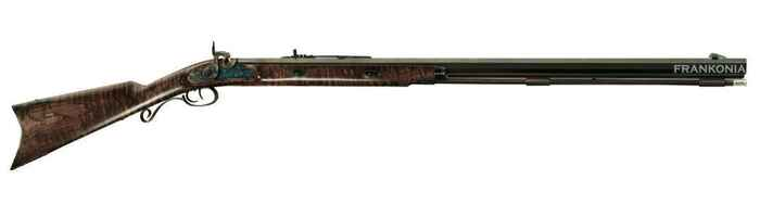 Vorderlader Gewehr Rocky Mountain Hawken Rifle Maple, Davide Pedersoli