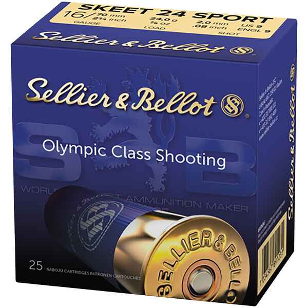 Skeet 24 Sport 16/70 2,0mm , Sellier & Bellot