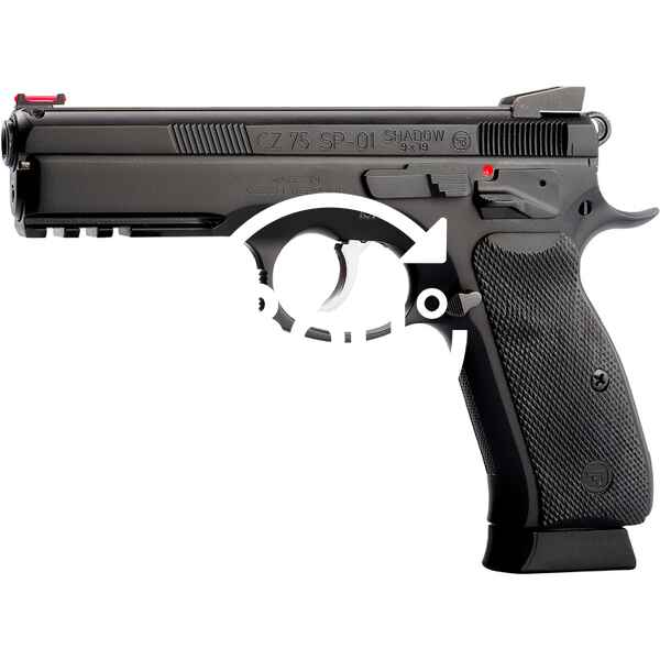 Cz Pistole Sp 01 Shadow Brüniert Pistolen Kurzwaffen