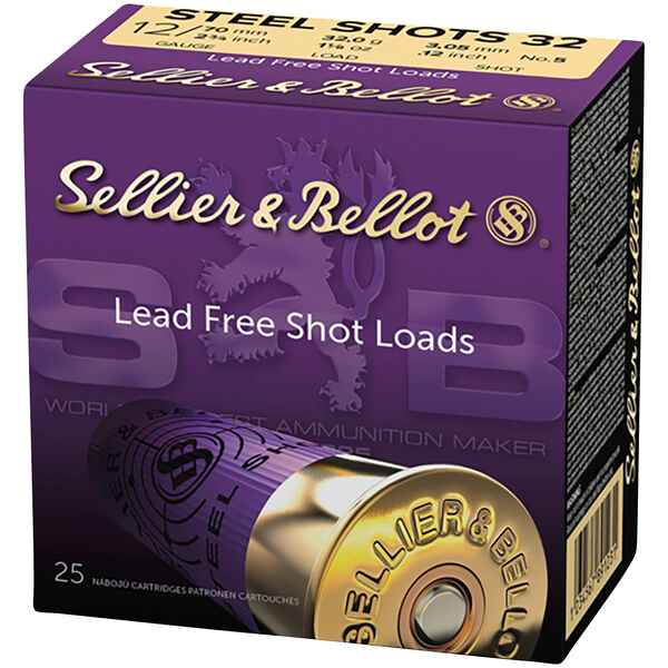 12/70 Jagd Steel 3,0mm 32g, Sellier & Bellot