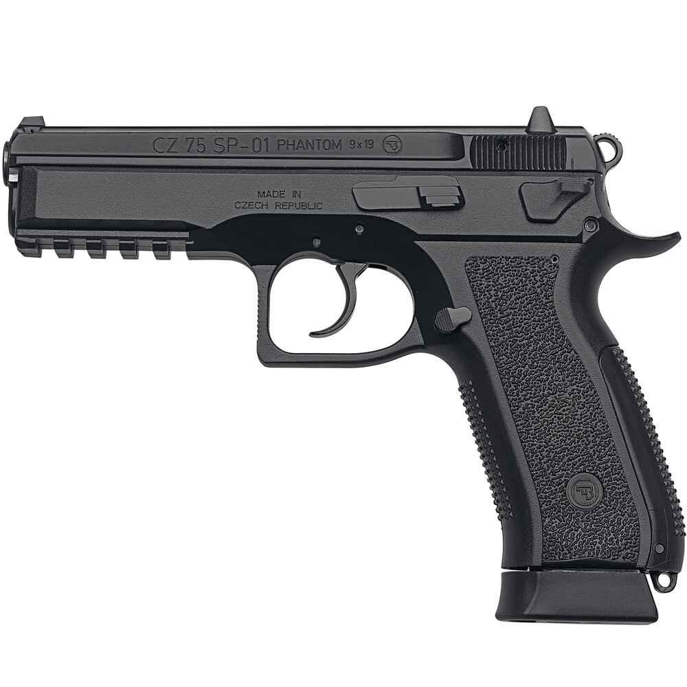 cz cz 75 sp 01 phantom kaliber 9 mm luger pistolen. Black Bedroom Furniture Sets. Home Design Ideas