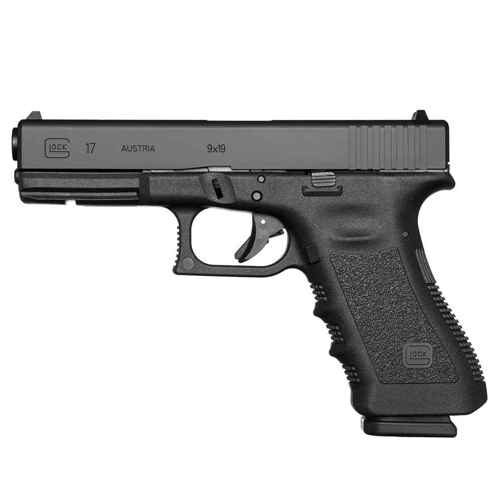 glock glock 17 mit rtf2 griffst ck kaliber 9 mm luger. Black Bedroom Furniture Sets. Home Design Ideas