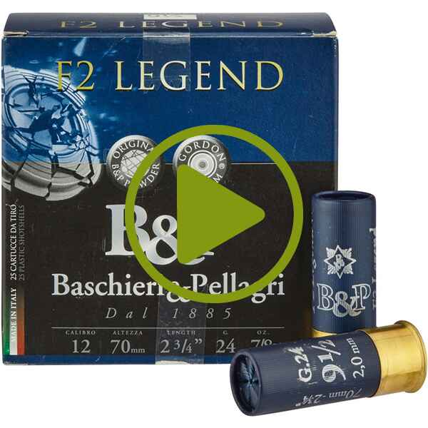 12/70 Legend Typo 3 2,0mm  24g, Baschieri & Pellagri