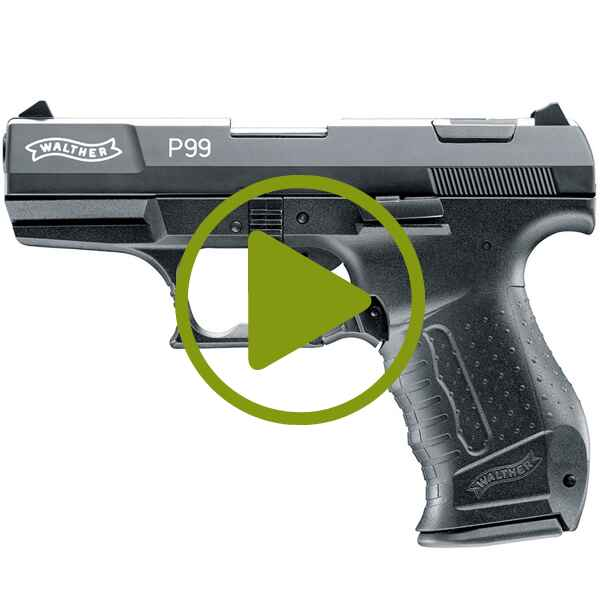 Gas+Sig Pist. Walther P99 9mmPAK, Walther