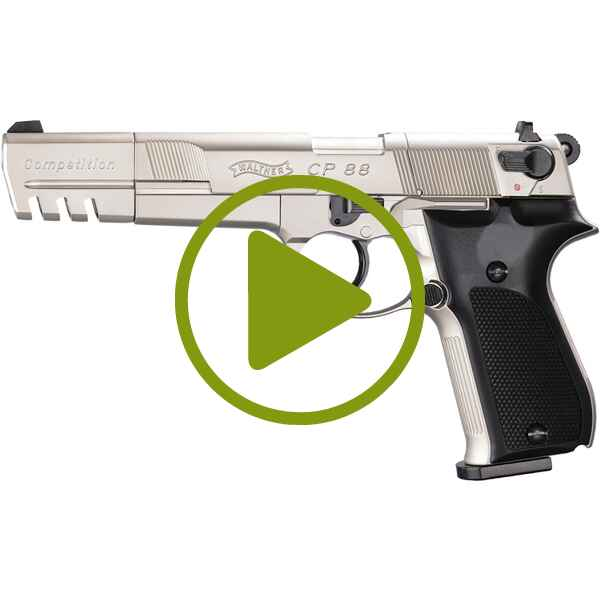 CO2 Pistole CP88 Competition, Walther
