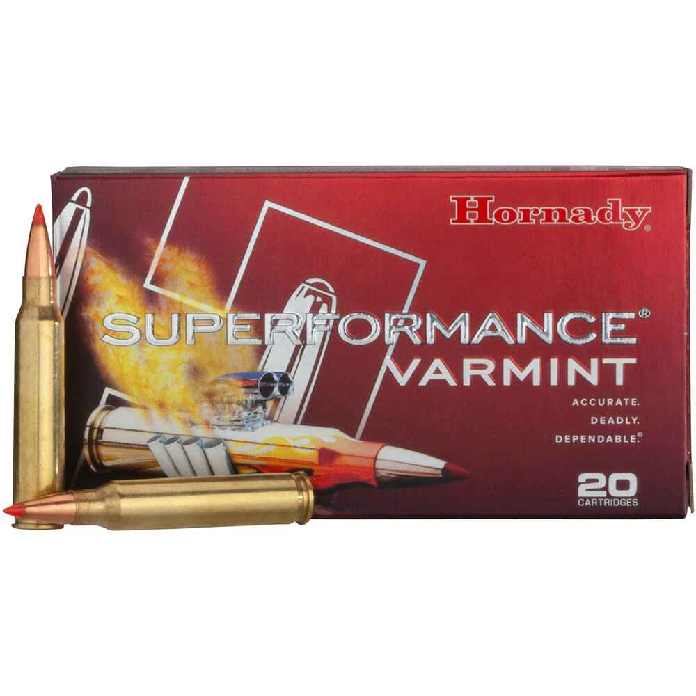 .223 Remington V-Max 53 grs., Hornady
